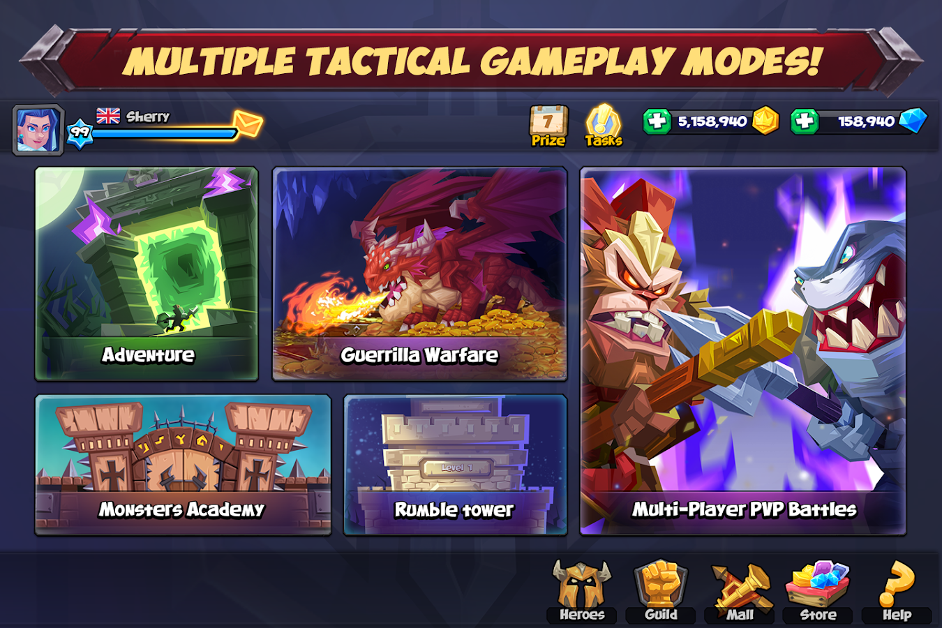 Tactical Monsters Rumble Arena - Tactic & Strategy- screenshot