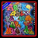 Graffiti 3D art ideas icon