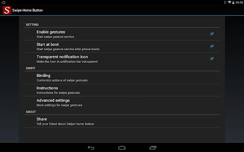 Swipe Home Button v1.4.1