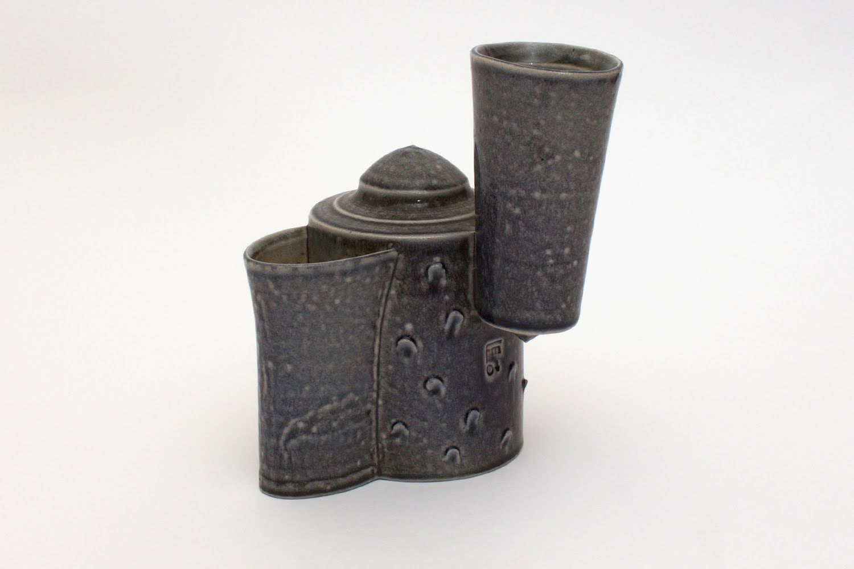 Peter Meanley Salt Glazed Ceramic Tea Pot 25