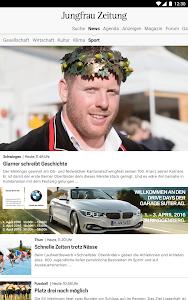 Jungfrau Zeitung screenshot 6