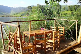 Photo: Kalebas Camp, Lake Bunyonyi, South Uganda