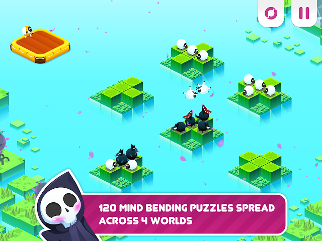 android Divide By Sheep - Mathespiel Screenshot 1