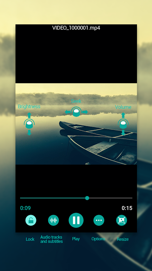 Video Player- screenshot