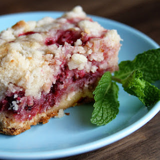 Fresh Raspberry Bars Recipe