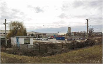 Photo: Turda - Str. Stefan cel Mare, vedere panorama de pe dig, Electroceramica  - 2019.02.21