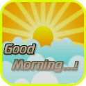 Good Morning Greeting Card icon