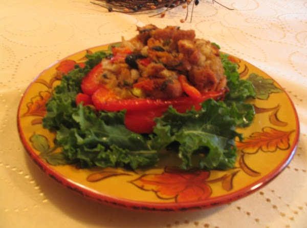 Italian Tuna Stuffed Peppers Recipe