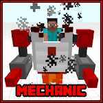 Mechanic Redstone MCPE Mod Addon Icon