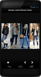 Bomber Jacket Women Trends - náhled