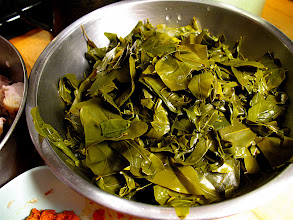Photo: cassia leaves for curry