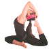 Yoga Warm-up Workout Icon