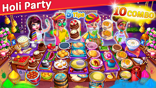 Cooking Party: Restaurant Craze Chef Fever Games apkpoly screenshots 3