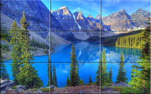 Puzzle - Beautiful lakes 1.19 screenshots 8