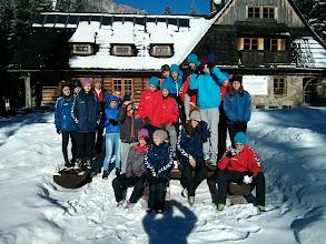 Photo: Uczniowie klasy II B Gimnazjum nr 1 w Płońsku, na obozie sportowym w górskiej miejscowości Murzasichle [11-15.01.2015]