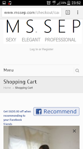MSSEP Shopping Singapore screenshot 3