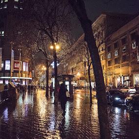 san francisco by Drew Campbell - City,  Street & Park  Street Scenes