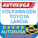 Volkswagen, Toyota,Lancia scanner cars OBD2 ELM327 icon