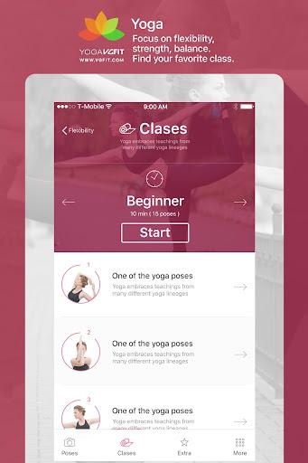 Yoga - Poses & Classes  screenshots 10