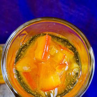 Homemade Orange Jam.