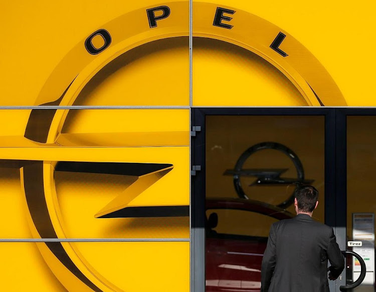 A man enters an Opel dealership in Strasbourg, France.   File photo: REUTERS