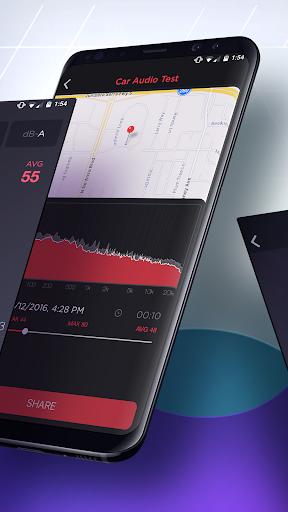 dB Meter - measure sound & noise level in Decibel  screenshots 2