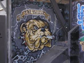 Photo: De grafitti's van Jim Haan, wereldberoemd in Den Haag e.o.
