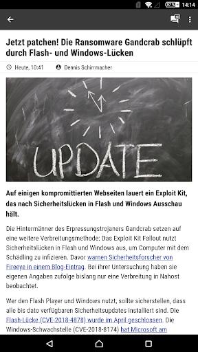 heise online - News 3.4.2 screenshots 20