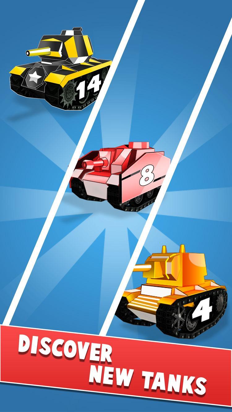 Скриншот объединить танки - лучший простоя игры слияния