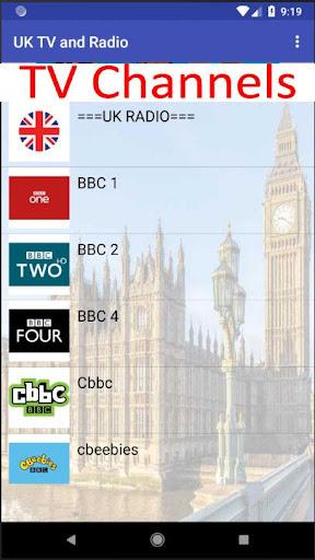 UK TV & Radio 1.21 screenshots 2