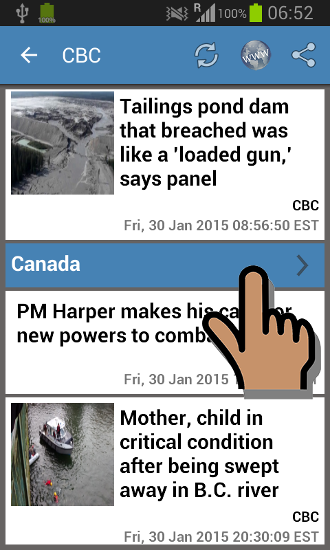 Canada News & More- screenshot