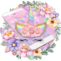 Theme Flower Unicorn Dream icon