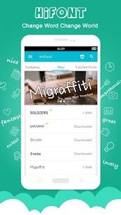 HiFont – Cool Fonts Text Free + Galaxy FlipFont 1