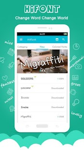 HiFont - Cool Font Text Free + Galaxy FlipFont Screenshot
