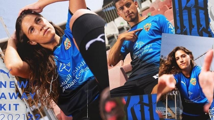 La segunda camiseta del Almería 21-22-