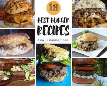 18 Best Burger Recipes