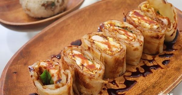 沐沐家朝食(氵木氵木 · 家)MuMuJia~台式羅勒三杯雞蛋餅與日式本丸