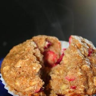 Organic Banana Cranberry Oatmeal Muffins