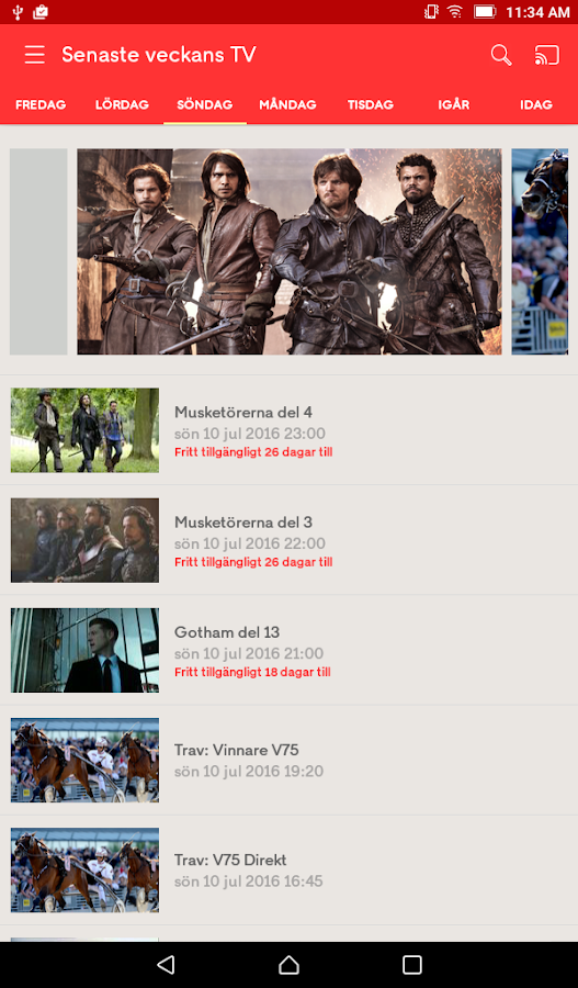 tv4 play gratis app