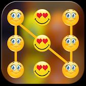 Smiley Pattern Screen Lock