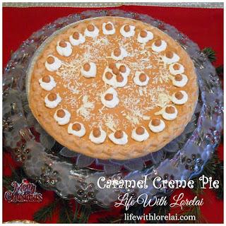 Caramel Creme Pie