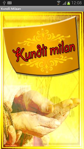 Vedic:Kundli Milan