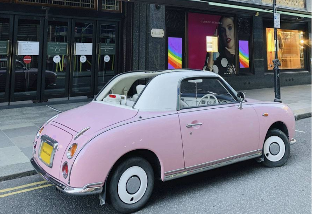 Nissan Figaro Hire London