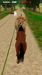 Jungle Horse Run 3D screenshot 5