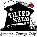 Tilted Shed Ciderworks Barred Rock Barrel Aged Cider