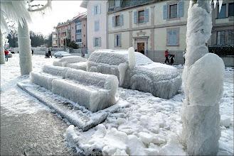 Photo: Ice Storm - Geneva Switzerland