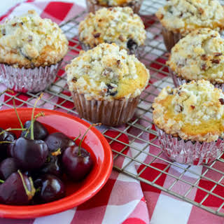 Cherry Streusel Muffins.