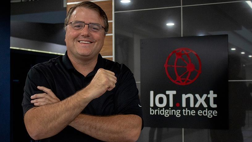 Jason Bradlee, COO of IoT.nxt Americas