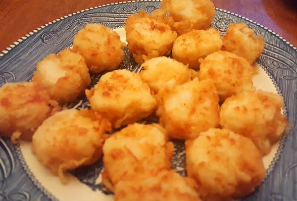 Fried Sea Scallops