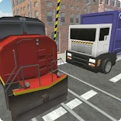 Garbage Truck: Railroad Crossing